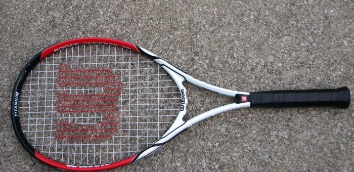 how to re-grip a tennis racquet