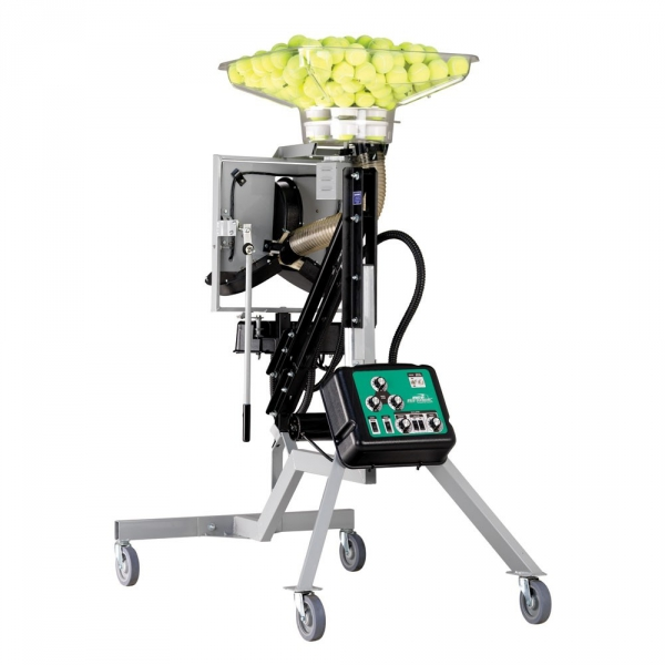The Ace Attack tennis serving machine